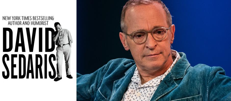 David Sedaris at Muriel Kauffman Theatre