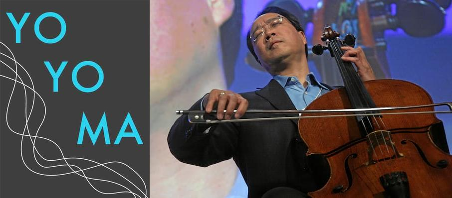 Yo-Yo Ma at Helzberg Hall
