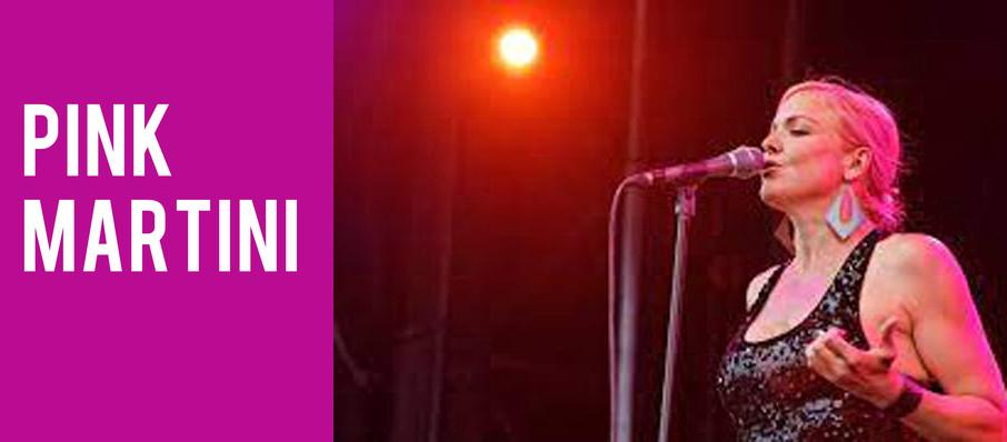 Pink Martini at Helzberg Hall