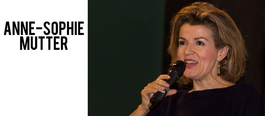 Anne-Sophie Mutter at Folly Theater