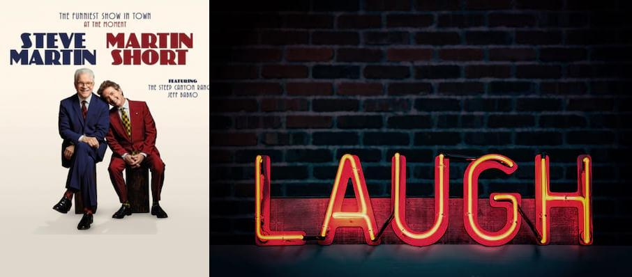 Steve Martin & Martin Short at Arvest Bank Theatre at The Midland