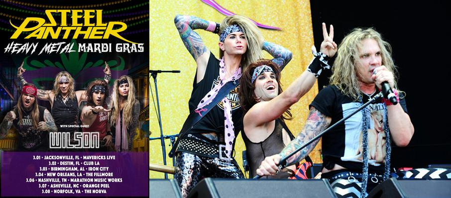 Steel Panther at Arvest Bank Theatre at The Midland