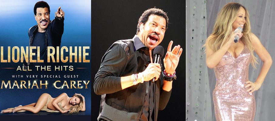 Lionel Richie with Mariah Carey at Sprint Center