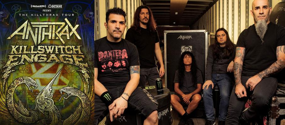 Anthrax and Killswitch Engage at Arvest Bank Theatre at The Midland