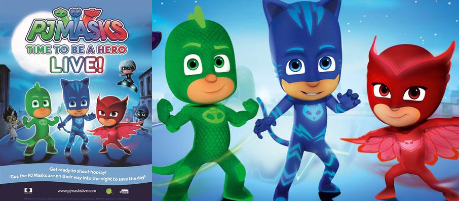 PJ Masks Live! Time To Be A Hero at Arvest Bank Theatre at The Midland
