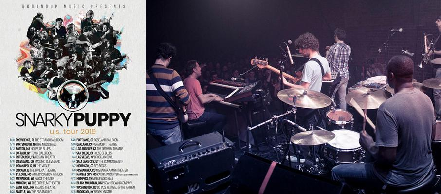 Snarky Puppy at Muriel Kauffman Theatre