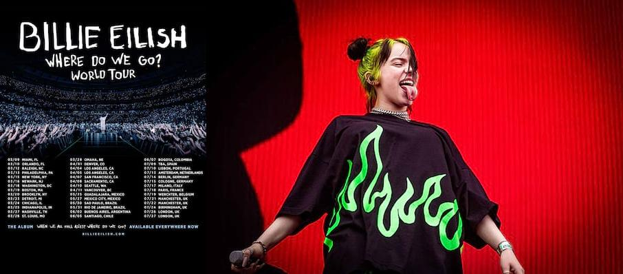 Billie Eilish at Silverstein Eye Centers Arena