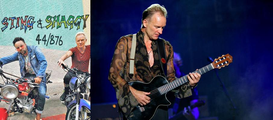 Sting with Shaggy at Arvest Bank Theatre at The Midland