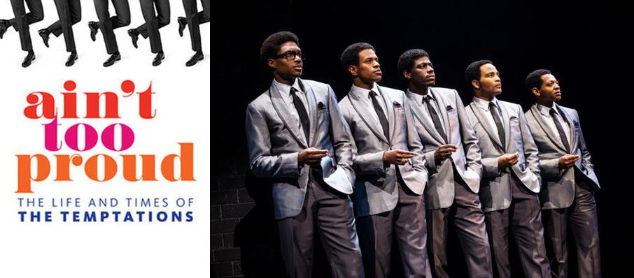Ain't Too Proud - The Life and Times of the Temptations at Music Hall Kansas City