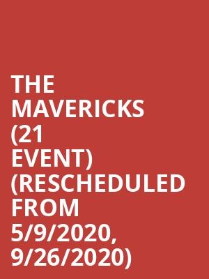 The Mavericks (21+ Event) (Rescheduled from 5/9/2020, 9/26/2020) at Knuckleheads Saloon