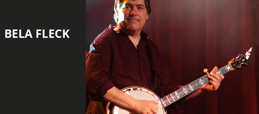 Bela Fleck, Helzberg Hall, Kansas City