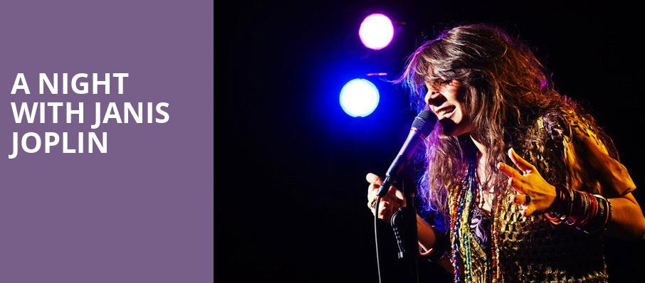 A Night with Janis Joplin, Yardley Hall, Kansas City