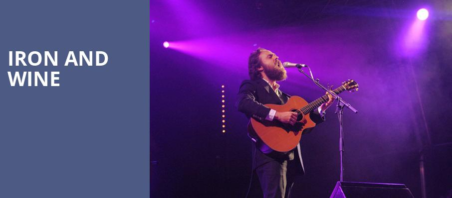 Iron and Wine, Arvest Bank Theatre at The Midland, Kansas City