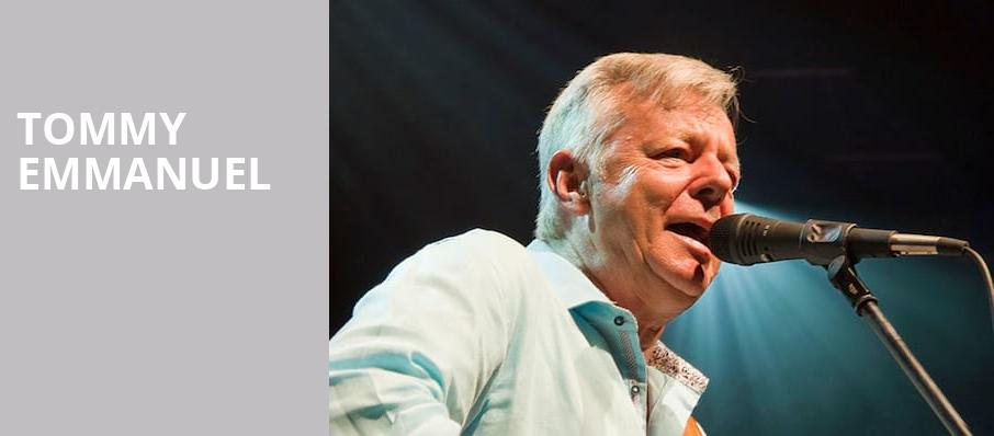 Tommy Emmanuel, Arvest Bank Theatre at The Midland, Kansas City