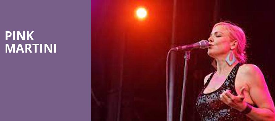Pink Martini, Helzberg Hall, Kansas City