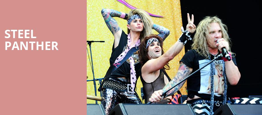 Steel Panther, Arvest Bank Theatre at The Midland, Kansas City