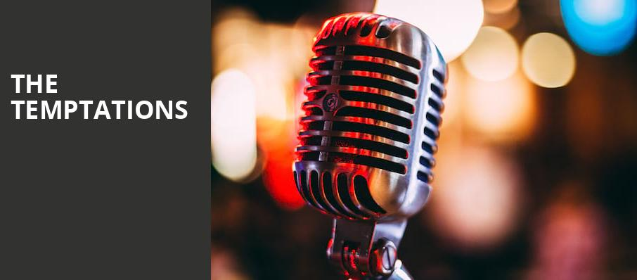 The Temptations, Muriel Kauffman Theatre, Kansas City