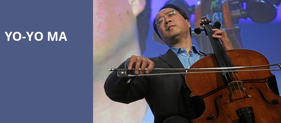 Yo Yo Ma, Helzberg Hall, Kansas City