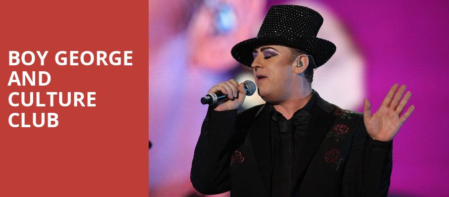 Boy George and Culture Club, Starlight Theater, Kansas City