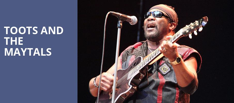 Toots and the Maytals, Crossroads, Kansas City