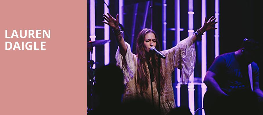 Lauren Daigle, Arvest Bank Theatre at The Midland, Kansas City