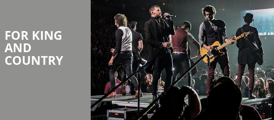 For King And Country, Sprint Center, Kansas City