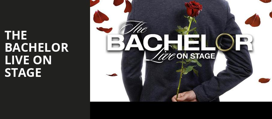 The Bachelor Live On Stage, Arvest Bank Theatre at The Midland, Kansas City