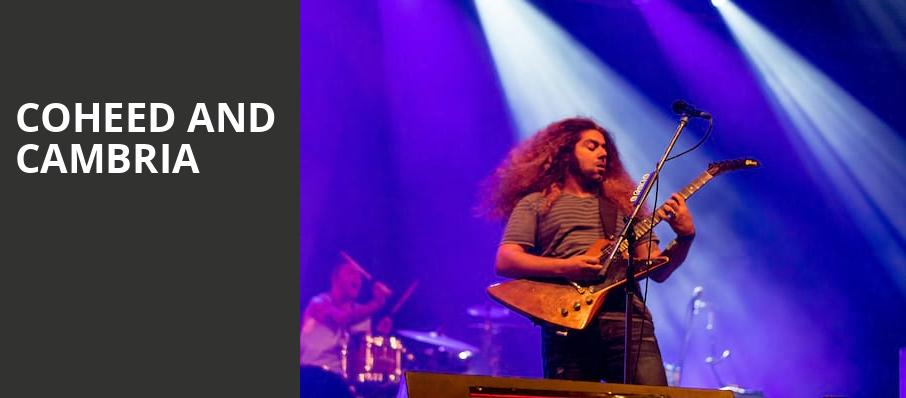 Coheed and Cambria, Uptown Theater, Kansas City