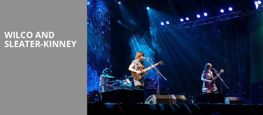 Wilco and Sleater Kinney, Arvest Bank Theatre at The Midland, Kansas City