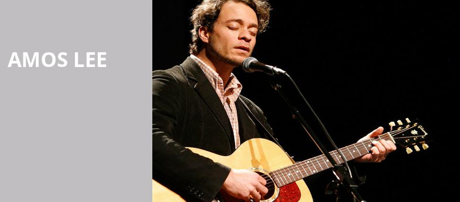 Amos Lee, Uptown Theater, Kansas City