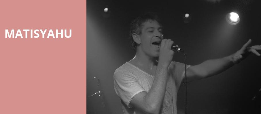 Matisyahu, Voodoo Cafe and Lounge, Kansas City