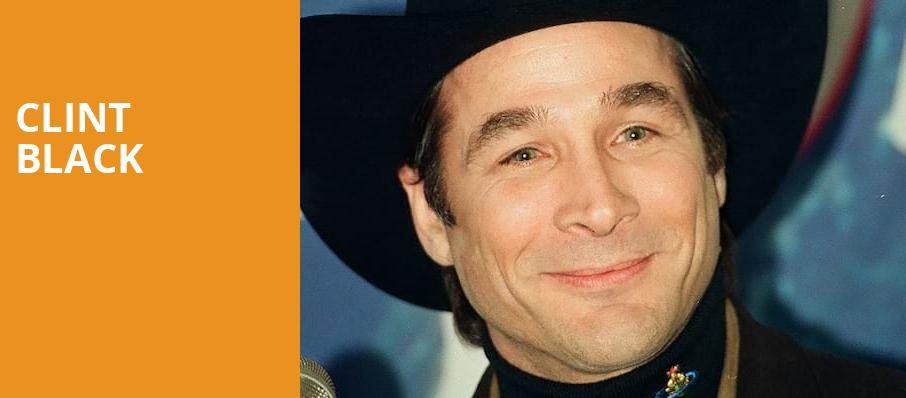 Clint Black, Ameristar Casino Hotel, Kansas City
