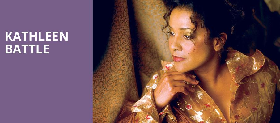 Kathleen Battle, Helzberg Hall, Kansas City