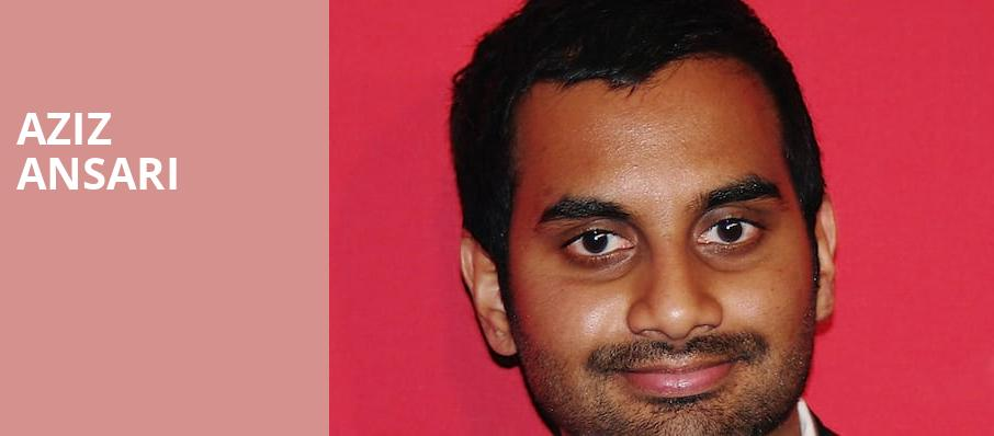 Aziz Ansari, Arvest Bank Theatre at The Midland, Kansas City