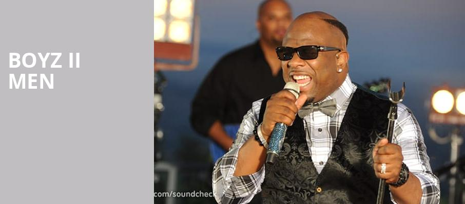 Boyz II Men, Helzberg Hall, Kansas City
