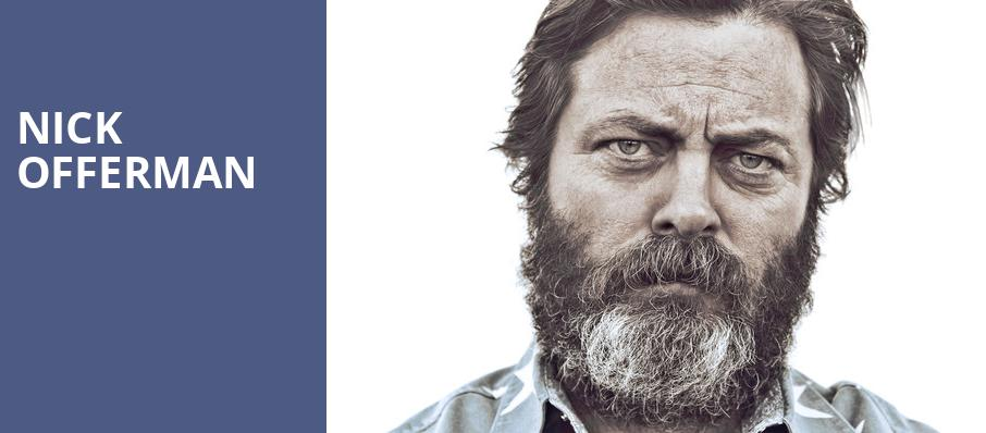 Nick Offerman, Music Hall Kansas City, Kansas City