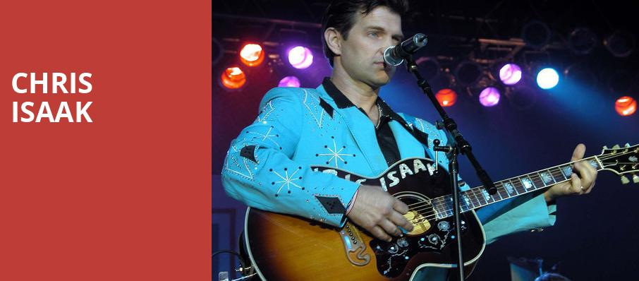 Chris Isaak, Uptown Theater, Kansas City