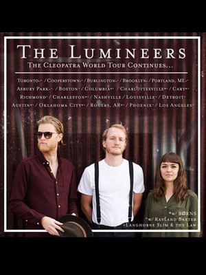 The Lumineers & Rayland Baxter Poster